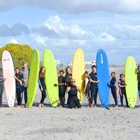 Vårt Surf n Adventure projekt i  Kapstaden har just fått nya softboards .Surftjejerna hade det grymt bra när de testade dem för första gången igår.  Surfa in på : http://www.goxplore.se/program/surf-adventure för att läsa mer om programmet.